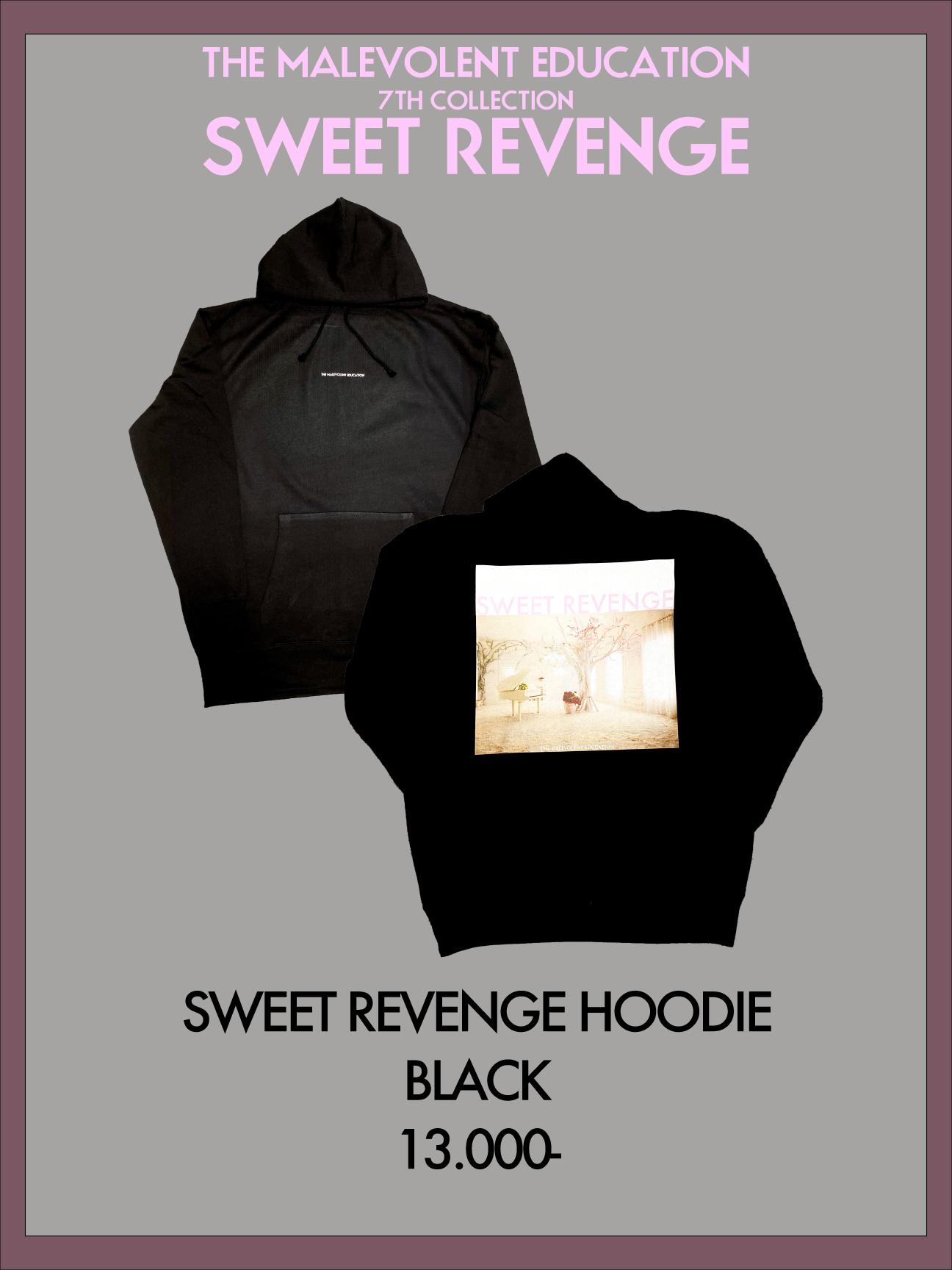 SWEET REVENGE HOODIE (BLACK)