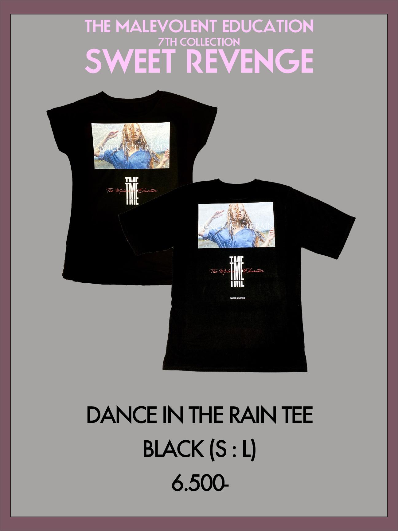 DANCE IN THE RAIN TEE(BLACK) S / L