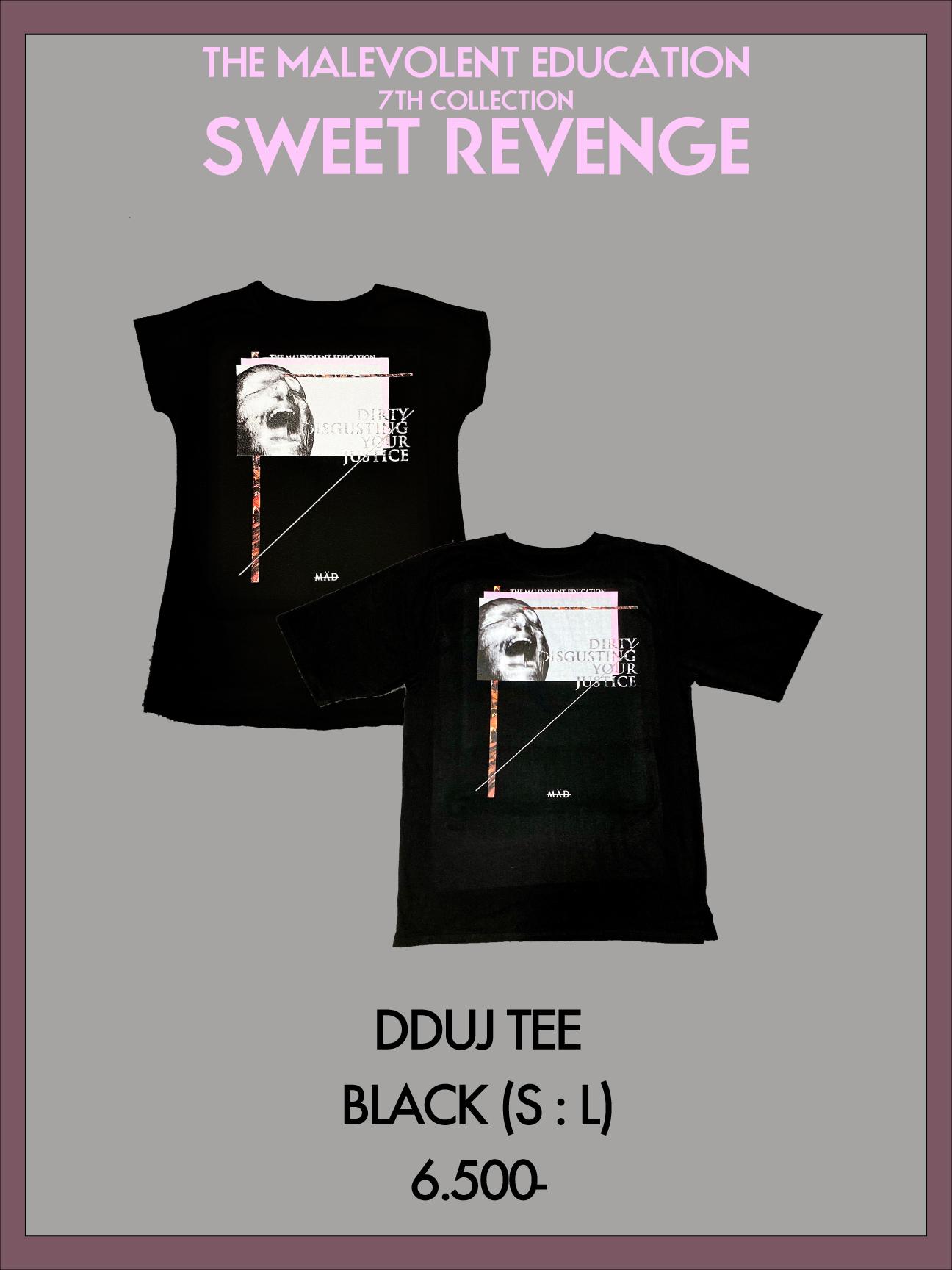 DDUJ TEE (BLACK) S / L