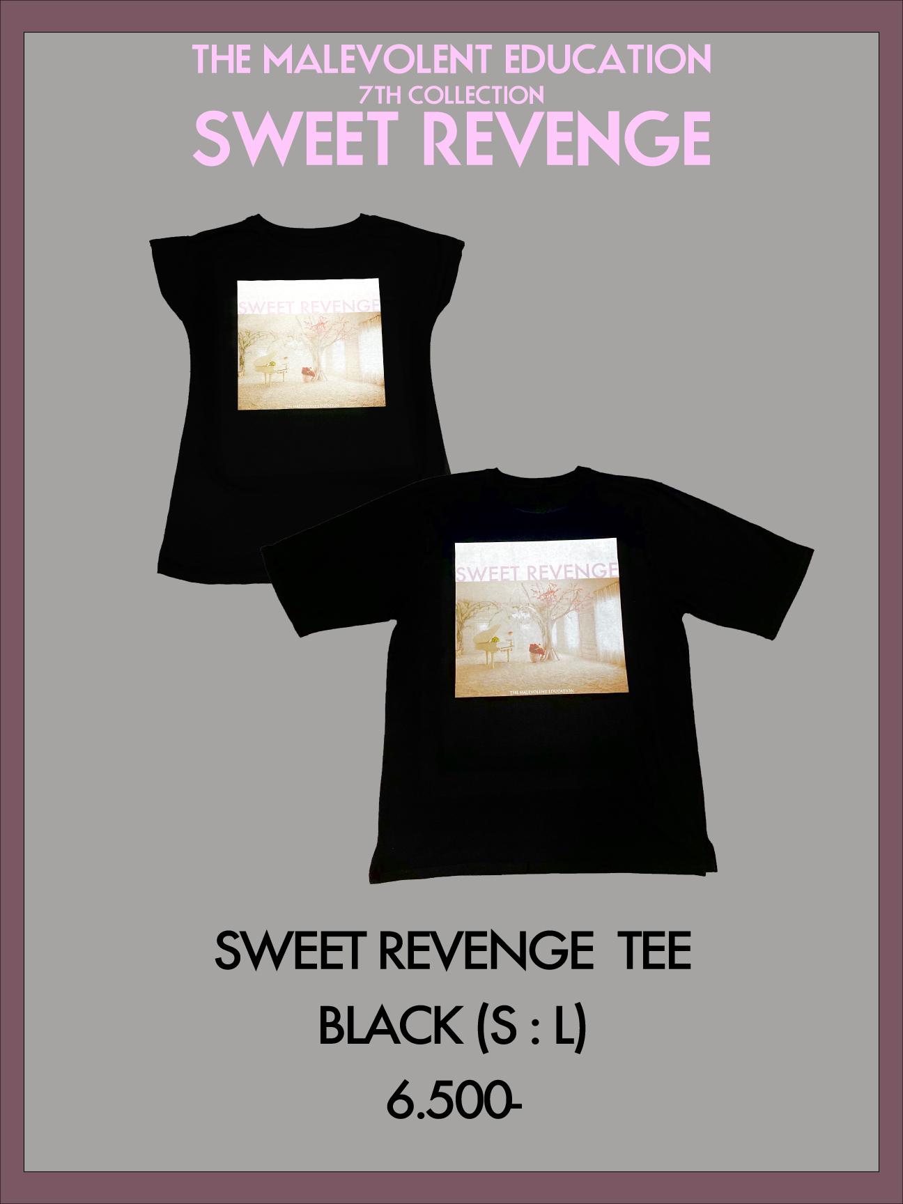 SWEET REVENGE TEE (BLACK) S / L